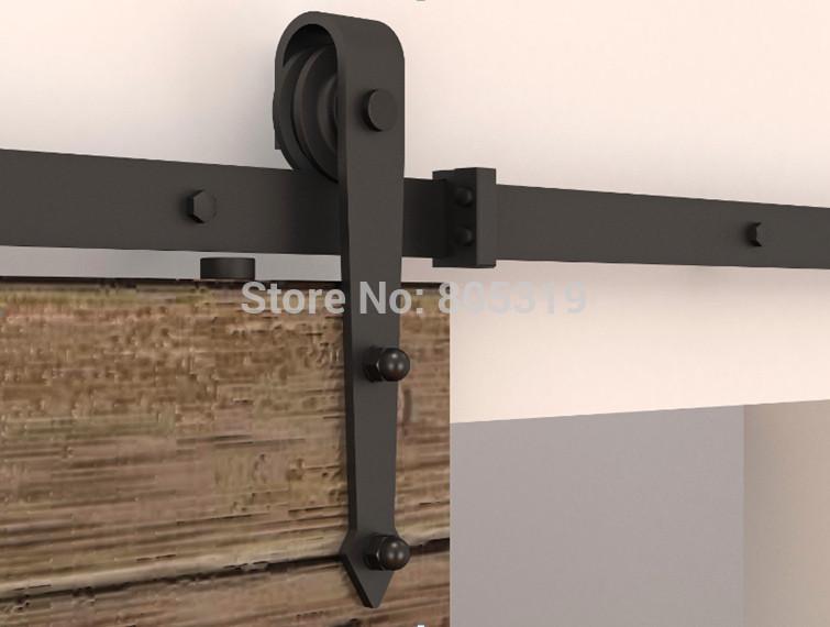 Sliding barn door hardware - 10ft Grange Coulissante Rail De Porte Rustique Porte De