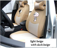 car seat covers full set for 5 seats  car seat covering sandwich material seat covers