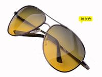 2014 adult steampunk fashion glasses day night polarized sunglass metal frame accept oem unisex new sunglasses polaroid oval
