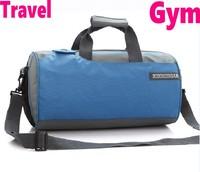 Fashion drum Gym  Bags men women Shoulder sports bag barrel basketball travel laptop cylinder portable sports bags