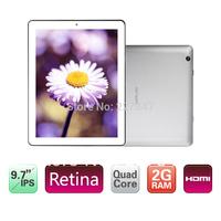 "Original 9.7"" IPS Retina Onda V972 Quad core Tablet PC Boxchip A31 CPU 2GB RAM Dual Camera 5.0MP HDMI Out Android 4.1"
