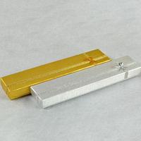 (12pcs/1 lot)Wholesale 4.5cm * 21cm gold / silver necklace bracelet boxes jewelry gift box free shipping