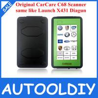 Super Performance Original price Free Shipping CareCar C68 professional car diagnostic tool DIY auto scanner like X431 Diagun