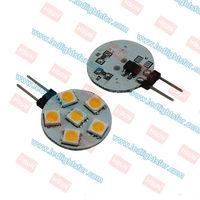 12v DC G4 6 LEDSMD5050 Round,g4 lamp led,g4 bulb led,g4 indoor light