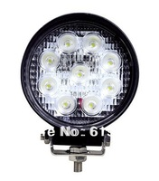 Free shipping 27w led tail lights, driving lights4x4, trailer lights,cree motorcycle,12v marine led light Waterproof IP67