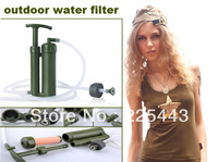 2014 new designed purifier ceramic outdoor water filter portable water purifier soldiers  water carbon free shipping