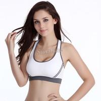 Plus Size Hot Women Jogging Sports Blockout Bra Vest Gymwear Fitness Crop-top Yoga Exercise Tank Tops Drop Shipping b9 SV003465
