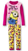 Girl's Animal Design Pyjama Nightwear Long Sleeves Sleep Sets Evening Wear, 6 Sizes/lot - JBPA07/JBPA03/JBPA10/JBPA15