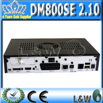 Satellite tv receiver Dm800hd se BCM4505 turner sim2.10 card dm800se Linux Operating System Enigma 2 dm800se DHL free shipping