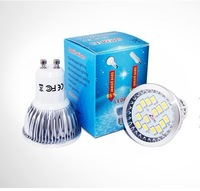 free shipping 5630 15leds 6w 550lm spotlight ac85-265v led bulb light 50pcs one lot wholesale CE&RoHS certificated