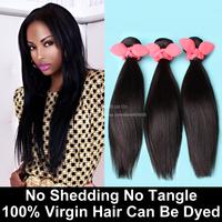 3 Bundles Brazilian Virgin Hair Straight Natural Black 6A Unprocessed Human Hair Weave Brazilian Straight Hair Rosa Hair Product
