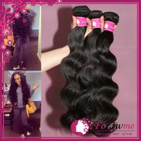 wholesale price virgin brazilian body wave human hair weaves , 3 Bundles 5A brazilian virgin hair , unprocessed remy hair weft
