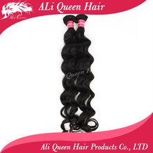Ali queen hair products human hair weave  8-34 unprocessed  brazilian virgin hair weave bundles more wave human hair extension(China (Mainland))