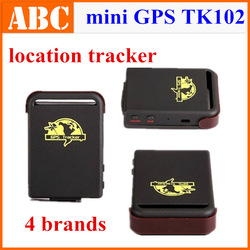 Mini Car GPS Tracker TK102 Global for persons pets 4 bands GSM GPRS Vehicle Tracking Device 900/1800/1900MHZ Real Time Drop ship(Hong Kong)