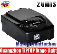 2pcs/lot Martin Light jockey USB1024 DMX Controller,Stage Light's Martin lightjockey Console,Light Jockey Dougle DMX Software