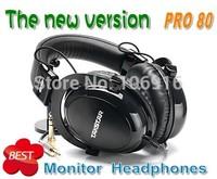 HOT New Upgrade Takstar  pro 80 Closed Dynamic Stereo Headphones & Earphone Professional Audio Monitoring Amazing Sound pro80