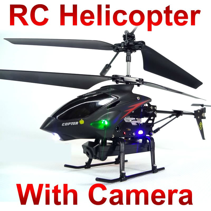 WL S977 3.5 CH Radio remote Control Metal Gyro rc Helicopter With Camera phone control helicopter FSWBFSA(China (Mainland))