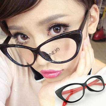 Free Shipping Fashion Leopard grain Vintage Style Classical Design Cat Eyes Eyeglasses 5464 b9 b9