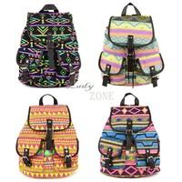 2013 New Fashion Lady Korean Stylish Vintage National Backpack Floral Canvas Bag School Bag knapsack 5 Colors 18368