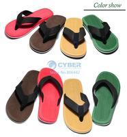 2014 New Spring/Summer/Fall Male Men Sport Beach Slippers,Flip Flops,Man Sandals Shoes 4 color b4 SV005596