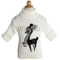children outerwear winter infant baby Cartoon sweater boy girl child sweater baby turtleneck sweater sweater B19 SV006395