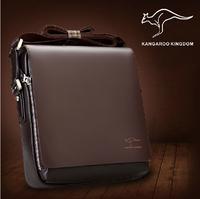 2014 fashion wholesale men bag,high quality PU Leather men shoulder bag,two color free gift promotional men bag