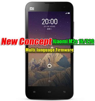 XIAOMI Mi2S Xiaomi M2S Xiaomi phonesWCDMA Mobile Phone MIUI V5 4.3IPS 2GRAM Multi language Google Play Xiaomi Phone Spainish etc