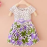 Good news!Big Discount girls dresses children cute baby dresses kids summer clothes princess kids party dresses #010 SV002025
