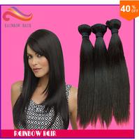 hair natural straight Top Grade 3pcs lot Mixed size hair extension hair weave