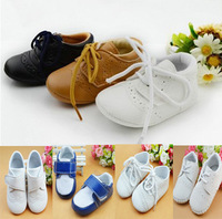 Promotion! Freeshipping Hot baby brown Leather shoes children shoes infant suits shoes boy kids shoes toddle shoes rubber sole