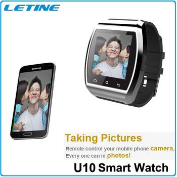 New U8 U Pro Bluetooth Smart Watch WristWatches for iPhone 4/4S/5/5S/6 Samsung S4/Note 2/Note 3 HTC Smart Phone Wristwatch