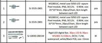 Rose's LED PI for Client On Aug.25th.2014