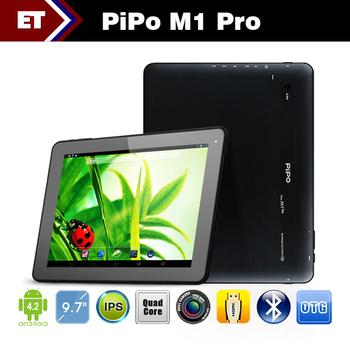 Original Pipo M1 Pro Quad Core RK3188 1.6GHz Android 4.2 Bluetooth HDMI OTG Dual camera 1GB RAM 16GB