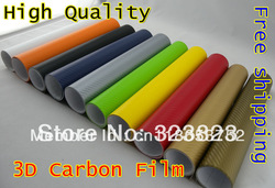 High Quality 150*30CM(Model A) 3D AIR DRAIN Carbon Film(China (Mainland))