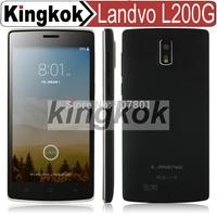 Landvo L200 G 4G FDD-LTE 5.0'' 960*540 Screen Android 4.4 Smart Phone with MTK6582 Quad Core CPU 1GB/8GB  + Intelligent Wakeup