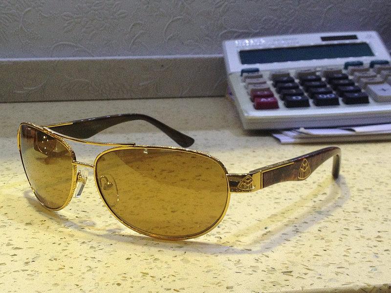 Оригинальный maybach 18 k золотые очки