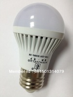 Free Shipping New E27 3W/ 5W/ 7W/ 9W  LED Nature White Light Lamp Bulb Super Bright with Retail Packing