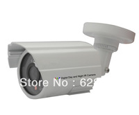 "White Light 800TVL Waterproof 1/3"" DIS Color Chipsets 24pcs LEDs IR Camera CCTV System"
