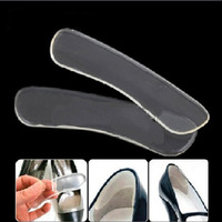 Wholesale 5 Pairs Clear Silicone Gel Heel Protector Pad Shoe Cushion Shield Liner Insole