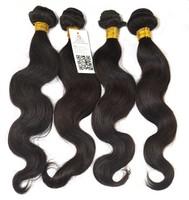 Queen Rose Malaysian virgin hair 6a,Cheap virgin unprocessed Malaysian Body wave  4 bundles 400g lot 1B Black free shipping