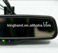 motorcycle rearview mirror/automatically dimming rear view mirror +compass+temperature