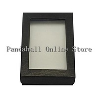 Free Shipping For US! Rectangle Cardboard Jewelry Boxes for Necklaces Earrings and Rings 90x65x28mm
