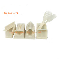 Japanese Sushi Perfect Limited Edition Magic Sushi Device 10 Pieces Set DIY Sushi Mould Tools Rolls Roller