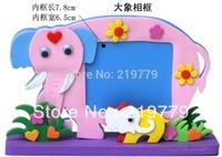 Kids handmade DIY 3D cartoon animal Eva photo frame children's educational toys Children Gift