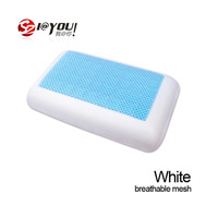 free shipping promotion 1pcs factory direct 100% gel cooling travel pillow  massage pillow for neck as seen on tv 2013
