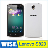 Original Lenovo S820 4.7 Inch IPS Capacitive Touch Screen Quad Core MTK 6589 smartphone Android 4.2 1280*720