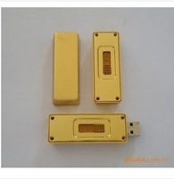 Package mailed the new high simulation of gold 256 g usb special limited-time discount metal bars U disk