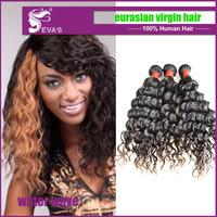 6A Eurasian Virgin Hair Loose Wave Eurasian Unprocessed Hair Human Hair Weaves No tangle 1pcs,3pcs lot