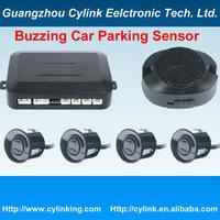 Buzzing Car Parking Sensor System with 4 Sensors / waterproof sensor FREE Shipping