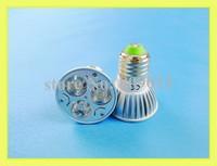 high power LED spotlight LED spot light 3W LED bulb light lamp light cup E27 3W 240lm AC85-265V high bright